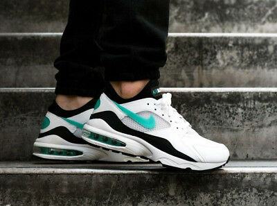 NIKE AIR MAX 93 OG Dusty Cactus White Sport Turquoise 306551