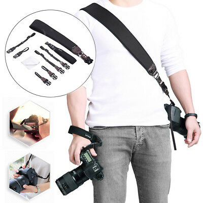 Powerextra Camera Neck Shoulder Strap & Wrist Strap w/ Quick Release & Tether