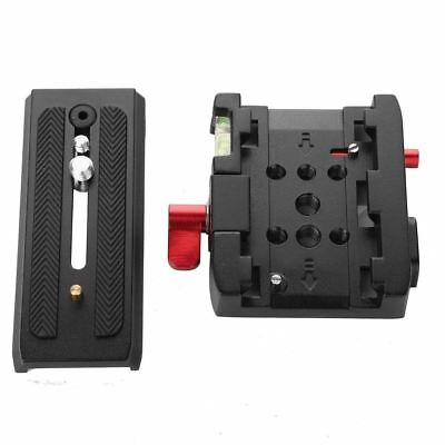 P200 Quick Release Clamp + QR Plate for Manfrotto 501 500AH 701HDV 503HDV 7M1W Q
