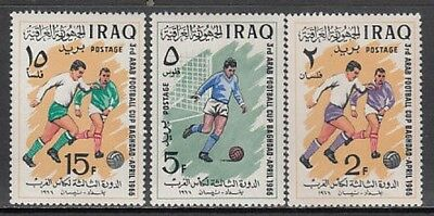 Iraq - Mail Yvert 435/7 Mnh Sports football