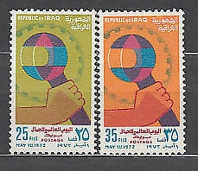 Iraq - Mail Yvert 686/7 Mnh Feast of the work