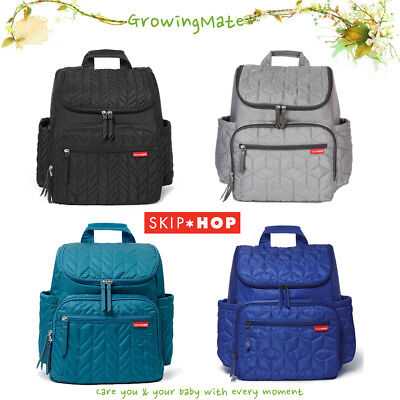 New Pattern Skip Hop Forma Backpack Diaper Bag Oversized Bag with Changing Pad
