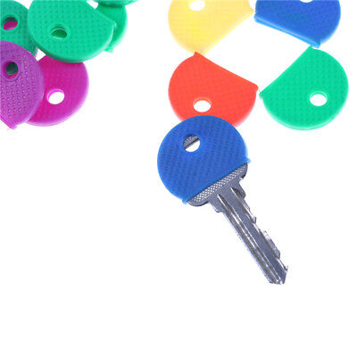 10pcs/20pcs Mixed Color Soft Key Top Cover Caps Case Keyring ID Marker Tags new.