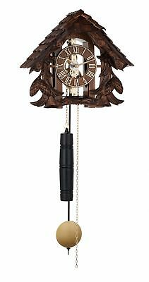 Black Forest wall clock with mechanical movement with stri.. HE 70995-030711 NEW