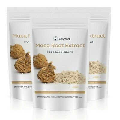1000mg MACA Root Extract Pills - High Grade SUPERFOOD Tablets - ENERGY & STAMINA