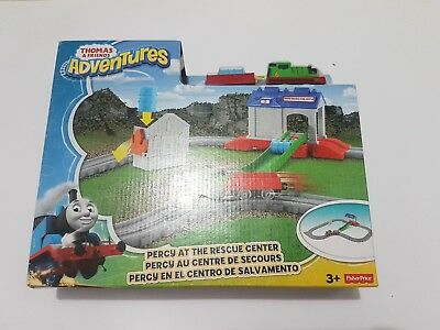 ... Brand new fisher price thomas and friends adventures percy at the rescue center