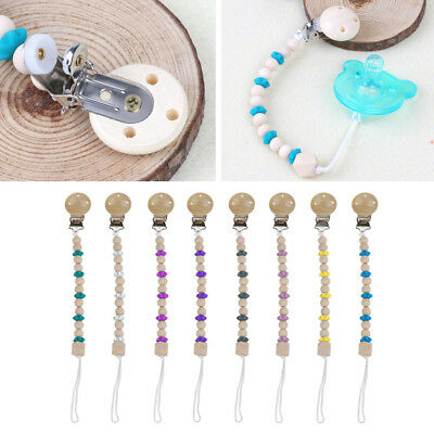 Baby Pacifier Clip Chain Soother Leash Strap Nipple Holder For Infants Feeding