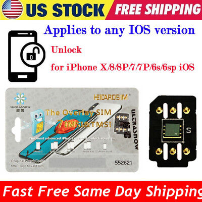 Perfect Unlock Turbo Sim Card for iPhone X 8 7 6S 6 Plus + 5S SE iOS 11.3.1 GPP