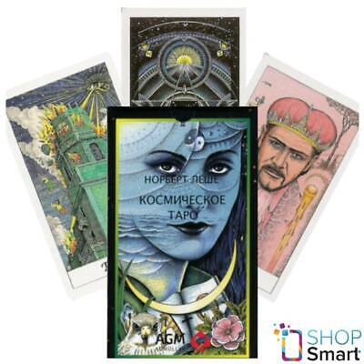 Cosmic Tarot Deck Cards Russian Edition Norbert Lösch Fortune Telling Agm New