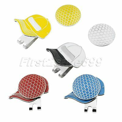 1 Pc Shoes Pattern Alloy Magnetic Hat Clip & Golf Ball Marker Decor Sports Game