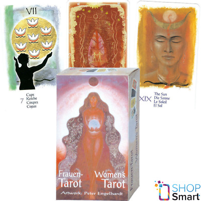 Women's Tarot Deck Cards Peter Egelhardt Esoteric Fortune Telling Agm New