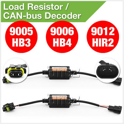 9005 9006 9012 HIR2 Auto LED Last Widerstand CAN Bus Decoder Fehler Frei Adapter