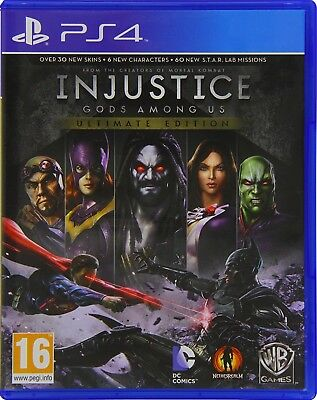 Injustice Gods Among Us - Ultimate Edition   PlayStation 4 PS4 New (4)