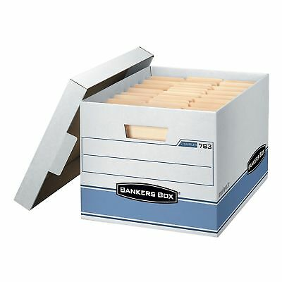 """Bankers Box Heavy Duty Storage Boxes, 10"""" X 12"""" X 15"""" (10 Pack) - Free Shipping"""