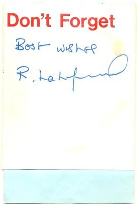 Bob Latchford signed autograph album page 1970s English footballer Birmingham FC