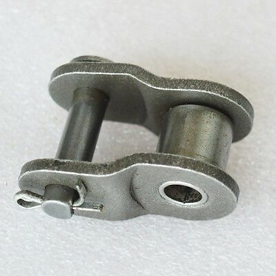 "#25 Roller Chain Connecting Link Half Link 04C 1/4"" Roller Chain Link x 10Pcs"