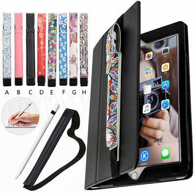 For Apple iPad Pen Pencil Holder Case Protective Sleeve Pouch Tablet Mate Cover
