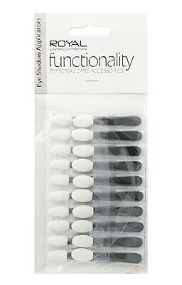 Royal Eyeshadow Applicators on Card Soft and Smooth Texture - 20pc