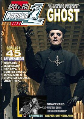 Popular 1 Rock n' Roll Magazine Spain - June 2018 - GHOST TOBIAS FORGE GRAVEYARD