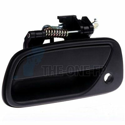 Front Outer Outside Door Handle Left Side LH Fits Toyota T100 93-98 Truck Black