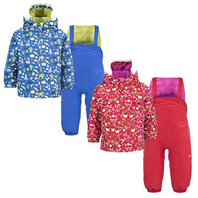 0ca67be1014c TRESPASS SQUEEZY BABIES Ski Suit Boys and Girls Warm Winter Jumpsuit ...