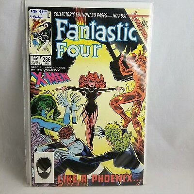 Fantastic Four #286 (Jan 1986, Marvel) Very Good! ~ Fast Free Shipping ✔️⭐