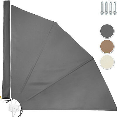 Balcony Screen Sindbreak Privacy Screen Sun Shade foldable collapsible Awning