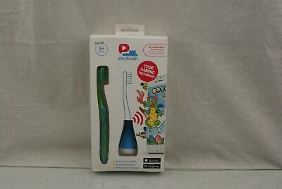 Playbrush Children Toothbrush Green 100 Gram  20A19