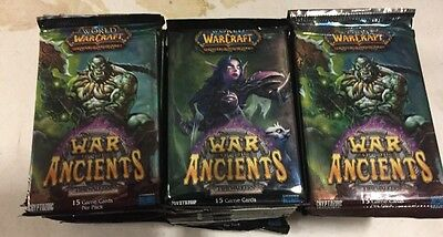 World Of Warcraft War Of The Ancients 36 Packs  Booster Pack Box LOT For WoW TCG