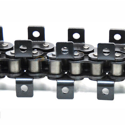"""#40 Both Side Bent Ear Roller Chain Pitch 1/2"""" 08B-1 Roller Chain x 1.5Meters"""