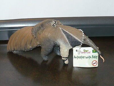 NEW - Safari Ltd. ANTEATER with BABY # 282429