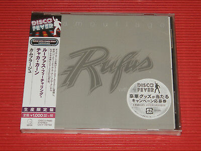 2018 DISCO FOREVER RUFUS FEATURING CHAKA KHAN Camouflage  JAPAN CD