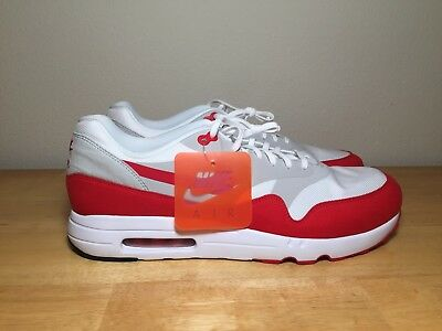 new concept 00821 6e7a6 Nike Air Max 1 Ultra 2.0 LE White University Red 908091-100 Sz 15
