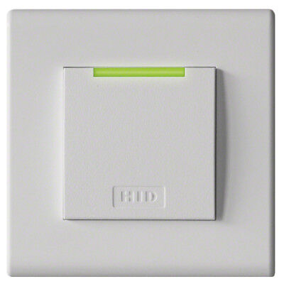 HID 95ANTNTEW0 iClass Decor Reader SE Decor; R95A; Flush Mount; White