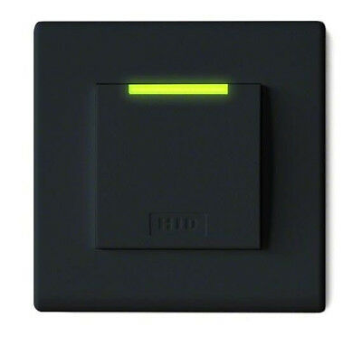 HID 95ANTNTEK0 iClass Decor Reader SE Decor; R95A; Flush Mount; Black
