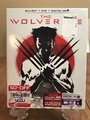 The Wolverine (Blu-ray/DVD, 2013, 2-Disc)Used, Quick and Free Shipping!!!!!
