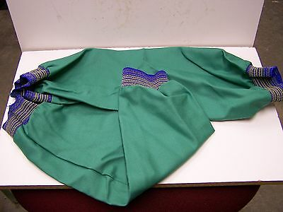 """24 Pair of 18"""" Green Heat Resistant Cotton Welding Sleeves w/ Elastic Cuffs New"""
