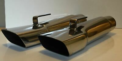 "3.0"" Mopar A Body Dodge, Demon, Dart, Duster, Plymouth 17""long Ss Exhaust Tips"