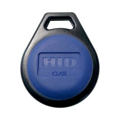 HID 2051HSEC iClass Credential - 10/100/500/1000 Tags Contactless Smart Key Fob