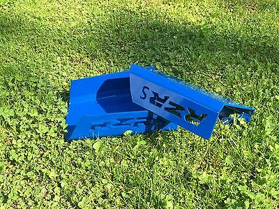 POLARIS RZRS 800 REAR A-ARM GUARDS C/V BOOT GUARDS Powder Coated Voodoo Blue