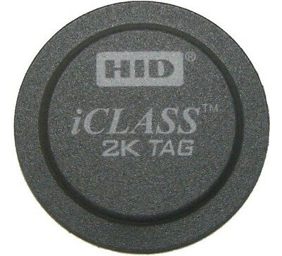 HID 2060PROG iClass Tag - 10/100/500/1000 Tags Contactless Smart Tag