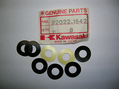 Kawasaki Washer Pack of 8 pieces 92022-1542 NOS OEM