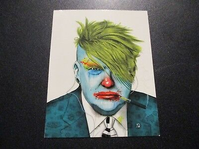 "ZOLTRON Art Sticker 4.5X3.5"" FUNTRUMP Donald Trump like art from poster print"