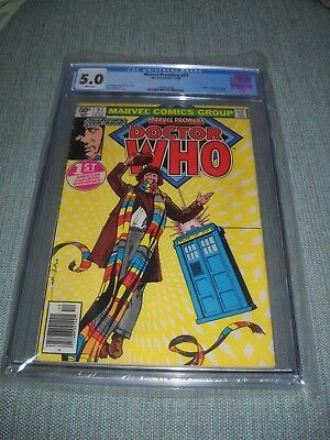 Marvel Premiere # 57 Cgc 5.0 1980 1St Appearance Of Doctor Who New Case