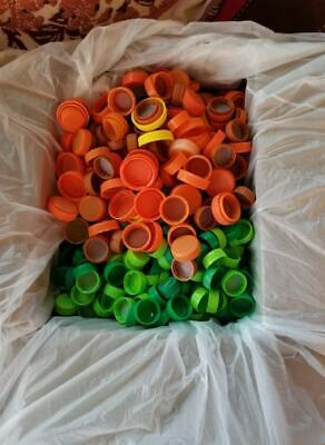 1300 Plastic Caps, Misc Colors, Sizes; many are Coke with Unclaimed Reward Point