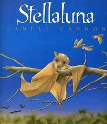 NEW Stellaluna By Janell Cannon Paperback Free Shipping