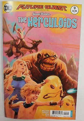The HERCULOIDS Comic Book ~ 1st ISSUE ~ Future Quest Presents # 9 Hanna Barbera