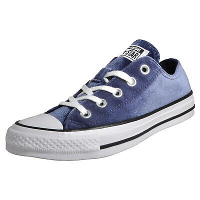 Converse Chuck Taylor All Star Velvet OX Women s Girls Casual Retro Fashion  Plim c9ad7fd21