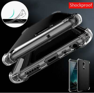 Luxury Shockproof Silicone Transparent Soft TPU soft Cover For OnePlus 6 5T 5 3T