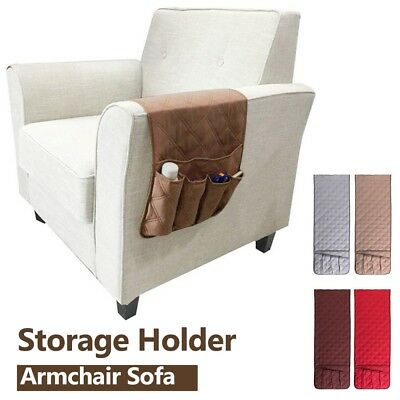 5 Pocket Armchair Sofa Chair Storage Holder Remote Control Phone Couch Organizer